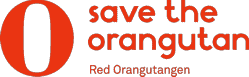 Save the Orangutan - Red Orangutangen